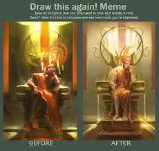 Meme God - before and after meme god king by dm7 on deviantart
