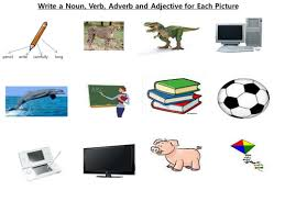 adjective adverb noun verb worksheet by danny31 teaching