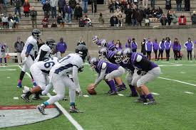 on thanksgiving day holidays in jp english high football team in action on
