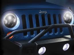 jeep wrangler blue headlights lights j w speaker jw 0551131 j w speaker 7 8700