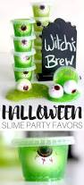halloween candy free slime party favors for kids