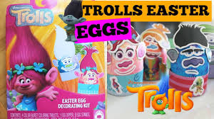 Easter Eggs Decoration Kit by Dreamworks Trolls Easter Egg Decorating Kit Diy Youtube
