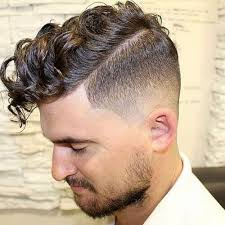 mens tidal wave hair cut curly hairstyles for men hairstyles haircuts