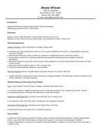 curriculum vitae exles for mathematics teachers spanish resume sle 60 images curriculum vitae high