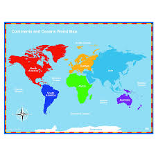 Continents And Oceans Map Blank by Mr Guerrieros Blog Blank And Filled World Map With Continents And