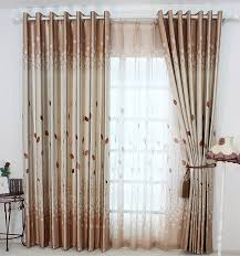 rideaux de chambre à coucher rustique fenêtre rideaux pour salon chambre à coucher blackout