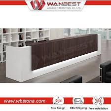 Industrial Style Reception Desk Factory Cash Counter Design For Restaurant Otobi Office Furniture