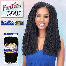 pre twisted crochet hair 3x pre loop crochet synthetic braid island twist 16