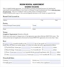 sample rental agreement template 8 free documents download in