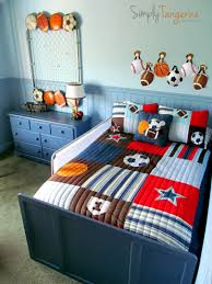 Room Boy All Star Sports Themed Room Kid Stuff Pinterest Themed Rooms