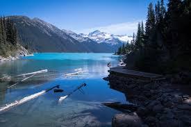 garibaldi lake and black tusk canada my lost words
