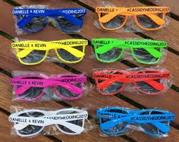 wedding favor sunglasses favor ideas etsy