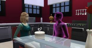 wedding cake in the sims 4 my sims husband died at their wedding they didn t even get to cut