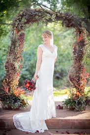 wedding arches how to make picture of moody fall wedding arch