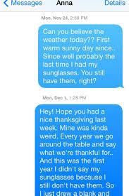 thanksgiving text messages man spends year sending texts to who accidentally stole his
