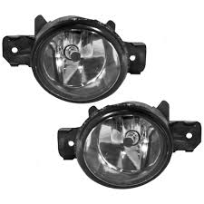 nissan altima 2013 fog lights amazon com driver and passenger fog lights lamps replacement for