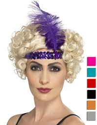 flapper headband sequin flapper headband plume candy apple costumes new 2017