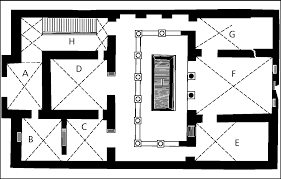 Roman Floor Plan by Mythological Wall Paintings In The Roman House
