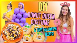 Donut Halloween Costume Diy Donut Queen Costume U0026 Easy Halloween Treats