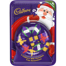 Christmas Cake Decorations Wilkinsons by Cadbury Dairy Milk Tree Decorations 83g At Wilko Com