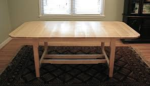 hand crafted maple dining table by hand made furniture custom made maple dining table
