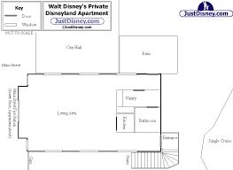 Disney Magic Floor Plan Walt U0027s Private Apartment Just Disney