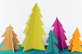 modern christmas tree diy modern wooden christmas trees
