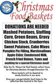 help with christmas st vincent de paul christmas food drive st catholic church