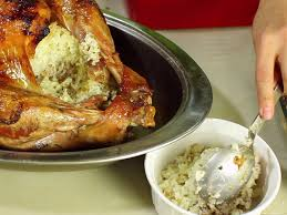 step by step thanksgiving dinner how to make rice stuffed turkey 8 steps with pictures wikihow