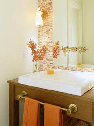orange bathroom ideas orange small bathroom ideas
