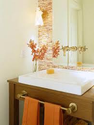 orange bathroom ideas orange small bathroom ideas