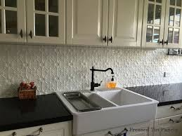 metal backsplash for kitchen tin backsplash ideas new kitchen trends to avoid lowes barn