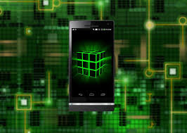 lime green halloween background neon cube hd live wallpaper android apps on google play
