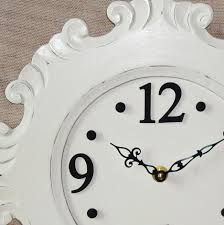 compact shabby chic wall clock 100 shabby chic wall clock large