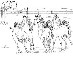 coloring pages colouring pages horses running arabian horse