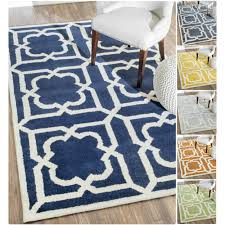 Handmade Wool Rug Moroccan Pattern Area Rug Rug Designs