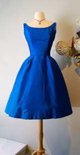 beautiful 1960 u0027s royal blue party dress 1960s fashion vintage