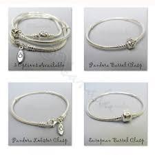 pandora sterling bracelet images Genuine pandora sterling silver bracelet december birthstone beads jpg