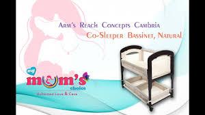Mini Crib Vs Bassinet by Arm U0027s Reach Concepts Cambria Co Sleeper Bassinet Best Newborn