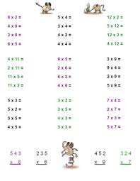 multiplying decimals vertical worksheet third grade math