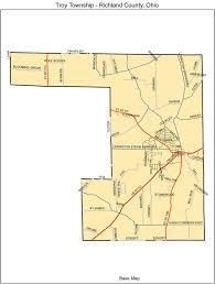 Troy Ohio Map by Troy Township U2013 Troy Township Richland County
