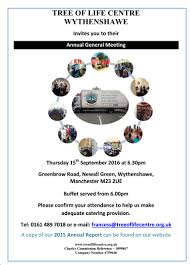 we would like to invite you to our annual general meeting