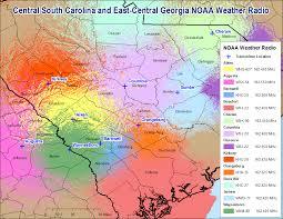 Columbia Sc Map Noaa Weather Radio