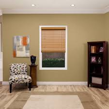 Home Decorators Collection Premium Faux Wood Blinds How To Install Faux Wood Window Blinds Handymanhowto Com