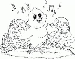 cute easter coloring pages getcoloringpages