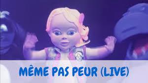 Meme Pas - b礬b礬 lilly m礫me pas peur version live youtube
