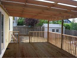Design A Patio Building A Patio Deck Cover Youtube