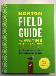 the norton field guide to the norton field guide to writing with 2016 mla update with