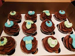 baby shower cupcakes chocolate cupcakes chocolate buttercream