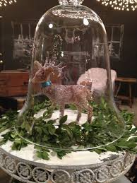 Vintage Deer Christmas Decorations by 87 Best Christmas Cloche Images On Pinterest Christmas Ideas